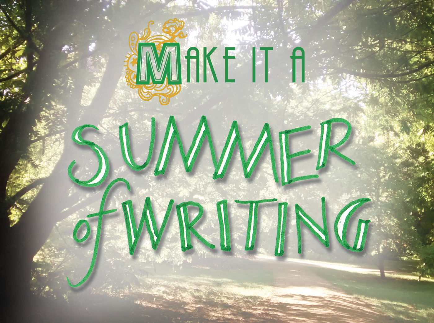 Summer Creative writing workshops for adults