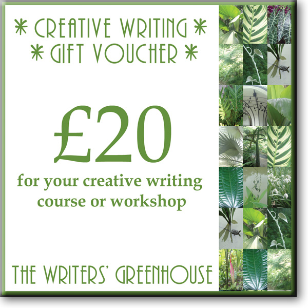 Creative writing voucher for any amount